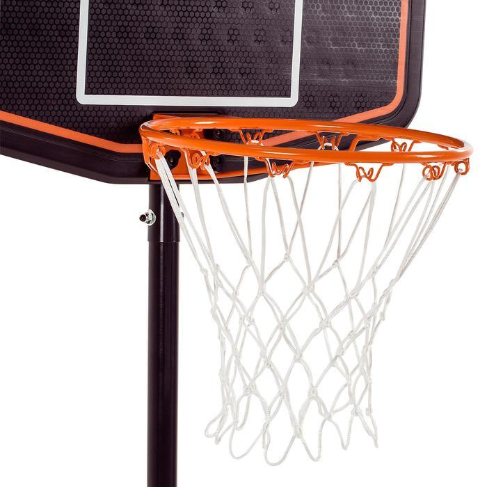Panier de basket enfant B200 EASY bleu espace. 1,60m à 2,20m. Jusqu'à 10 ans. - 1097085