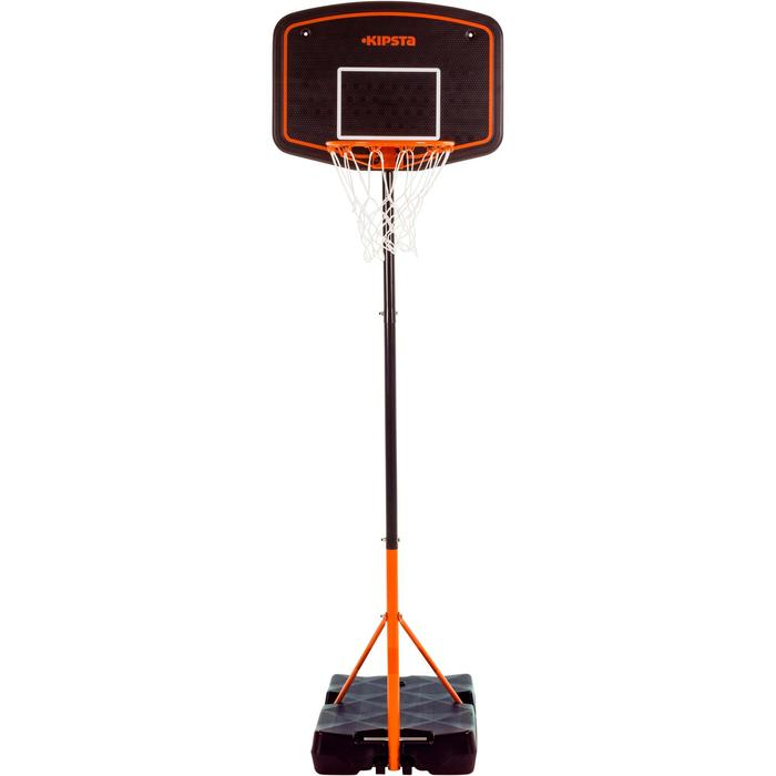 Panier de basket enfant B200 EASY bleu espace. 1,60m à 2,20m. Jusqu'à 10 ans. - 1097087