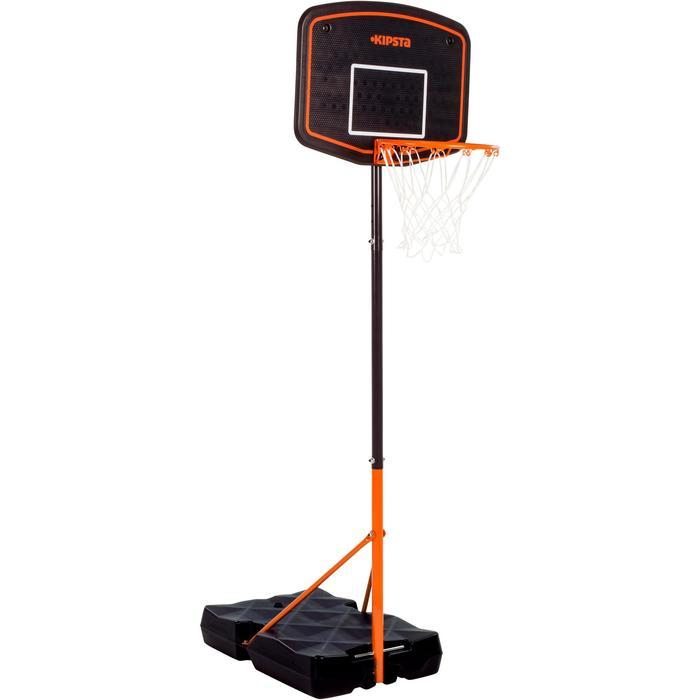 Panier de basket enfant B200 EASY bleu espace. 1,60m à 2,20m. Jusqu'à 10 ans. - 1097091