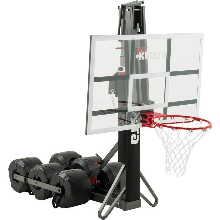 Panier de basket enfant/adulte B900. 2,40m à 3,05m. Se règle et se range en 2mn. - 1097109
