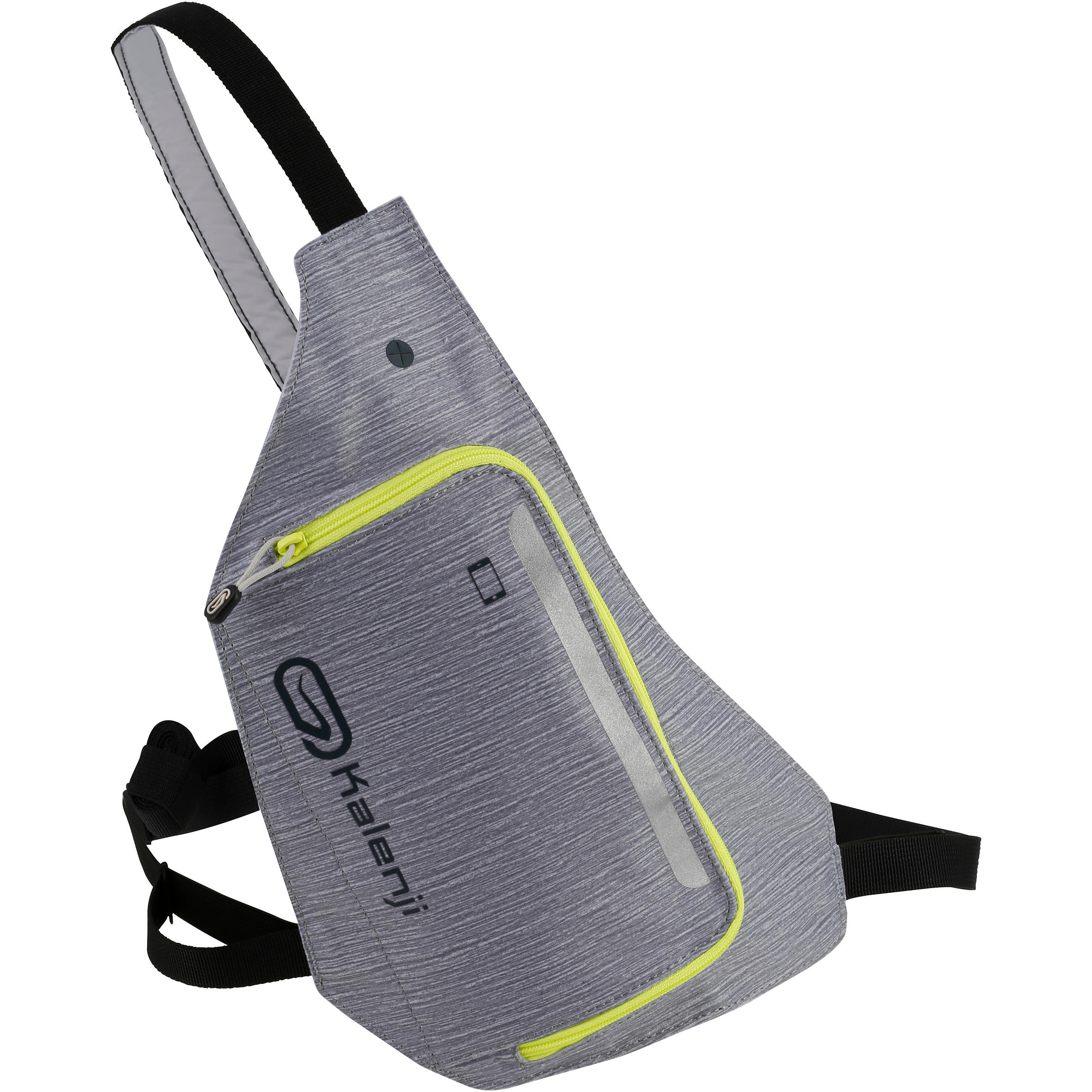 2-Position Running Bag - Grey