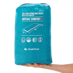 SELF-INFLATING CAMPING MATTRESS - COMFORT 65 CM- 1 PERSON
