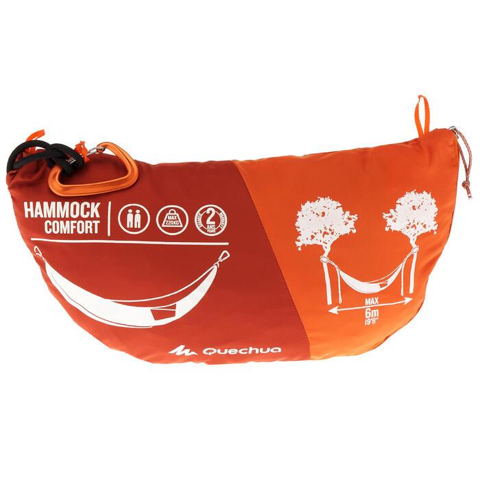 Hängematte Komfort 2 Personen orange