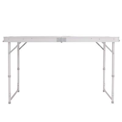 סט שולחן לטיולים/קמפינג עבור 4 אנשים עם 4 כסאות - כחול