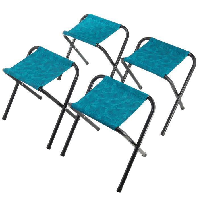 Table de camping 4 personnes avec 4 sièges - 1097260