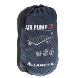 Luchtbed voor de camping Air Pump 70 cm 1 persoon