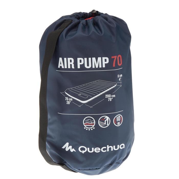 MATELAS DE CAMPING GONFLABLE AIR PUMP | 1 PERSONNE - LARGEUR 70 CM