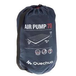 MATELAS GONFLABLE DE CAMPING - AIR PUMP 70 CM - 1 PERSONNE
