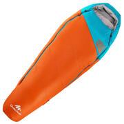 Spalna vreča za pohodništvo Forclaz 0/5 ° za otroke - oranžna