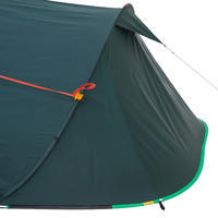 2 SECONDS CAMPING TENT - 3 PEOPLE - GREEN