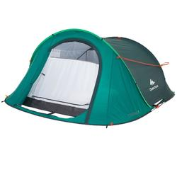 Pop up tent | 3 persoons | Groen | 2 Seconds