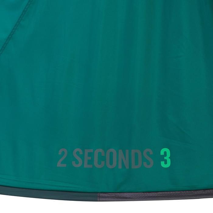 Tienda de campaña 2 SECONDS | 3 personas verde