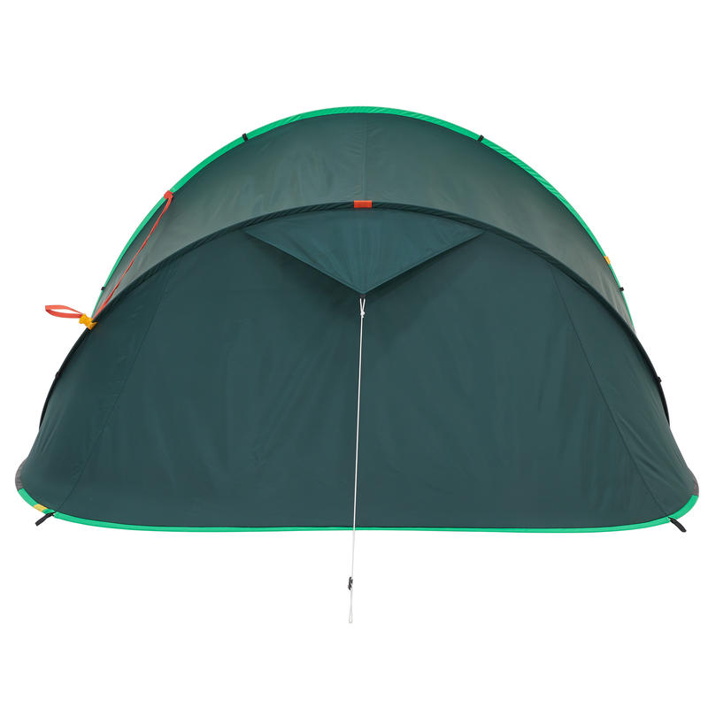 2 SECONDS CAMPING TENT - GREEN - 3 PEOPLE
