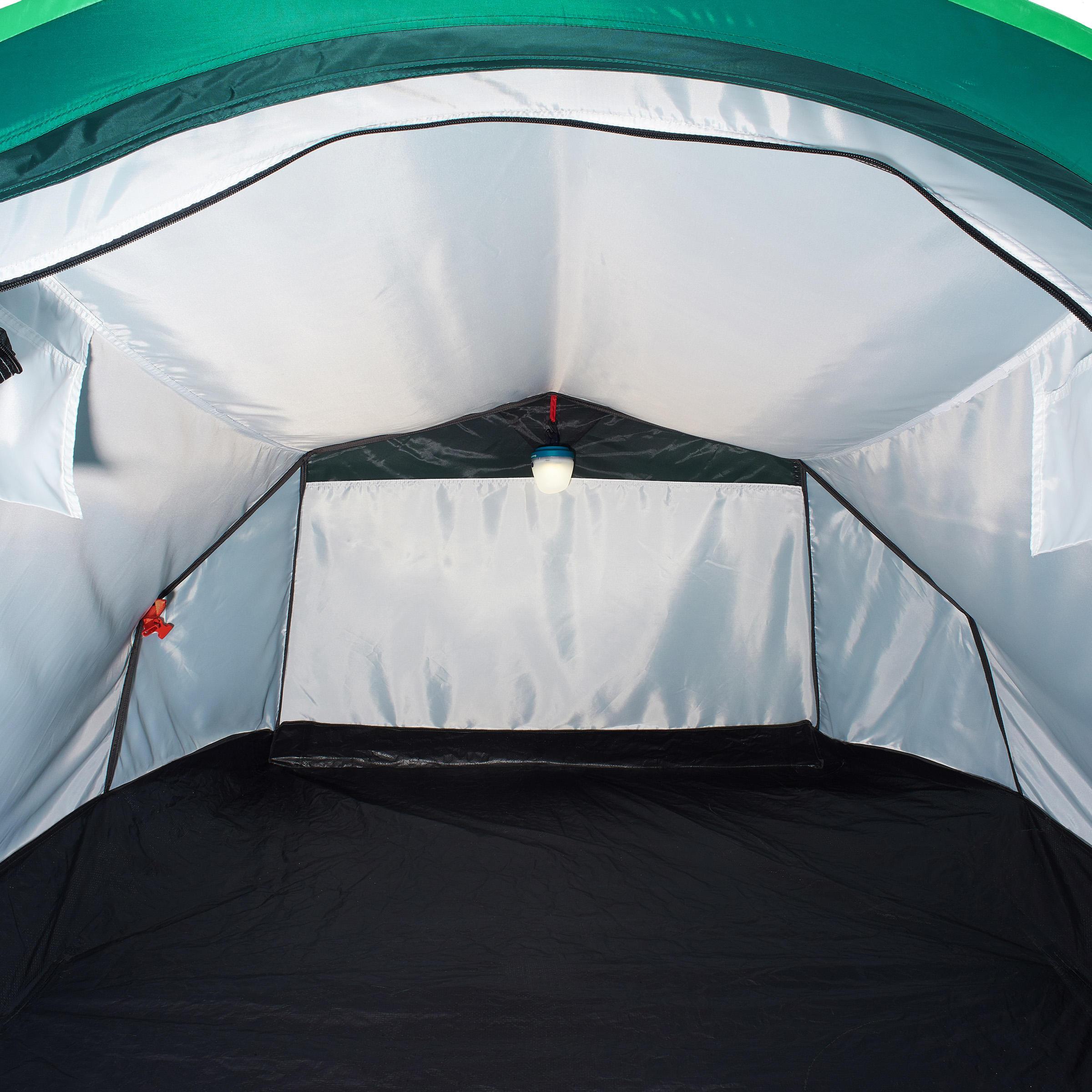 2 Seconds 2-Man Camping Tent - Green