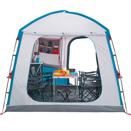 6 person camping living area - Arpenaz base M
