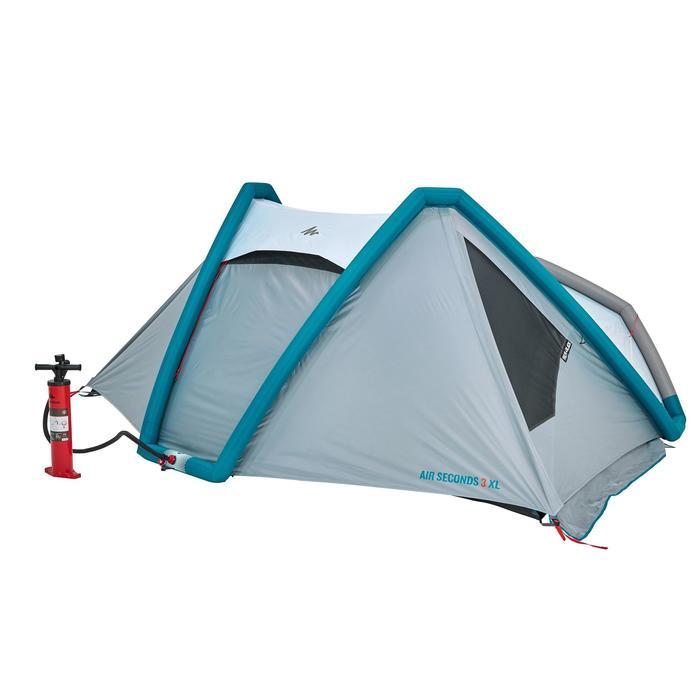 Tente de camping AIR SECONDS 3 XL FRESH&BLACK | 3 personnes blanche - 1097539
