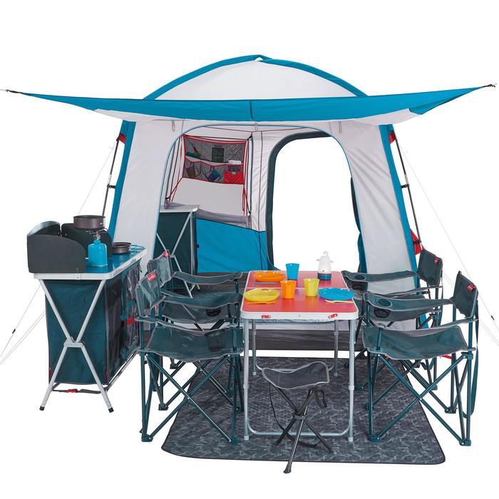 Séjour Auvent à arceaux de camping - Arpenaz Base M - 6 Personnes