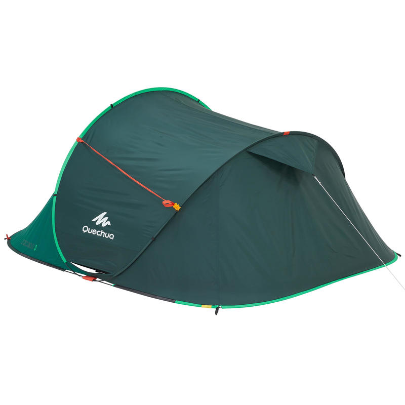 2 SECONDS camping tent _PIPE_ 3 person green