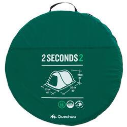 TENTE DE CAMPING - 2 SECONDS - VERTE - 2 PERSONNES