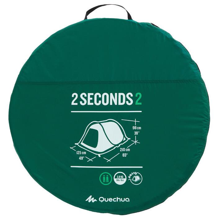 Wurfzelt 2 Seconds 2 für 2 Personen grün