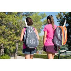 Rugzak voor racketsporten BP 100 grijs/roze