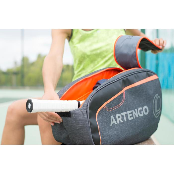 SAC TENNIS 100 S GRIS ORANGE