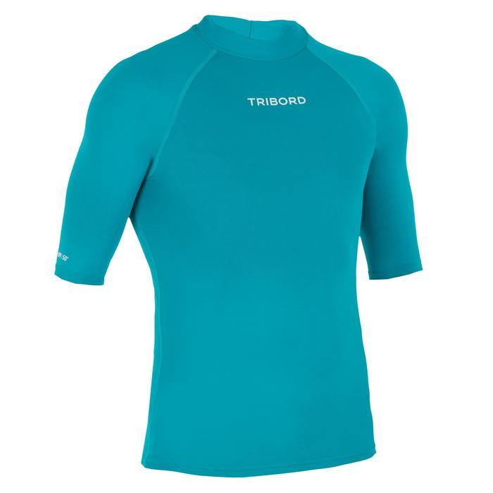 UV shirt heren 100 lichtblauw