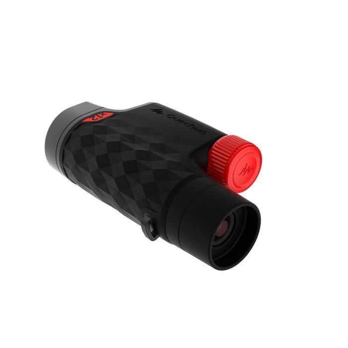 Monoculaire randonnée avec réglage - MH M560 - adulte - grossissement x12 noir