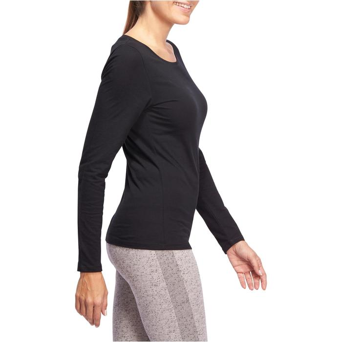 T-Shirt 100 manches longues Gym Stretching femme - 1097977