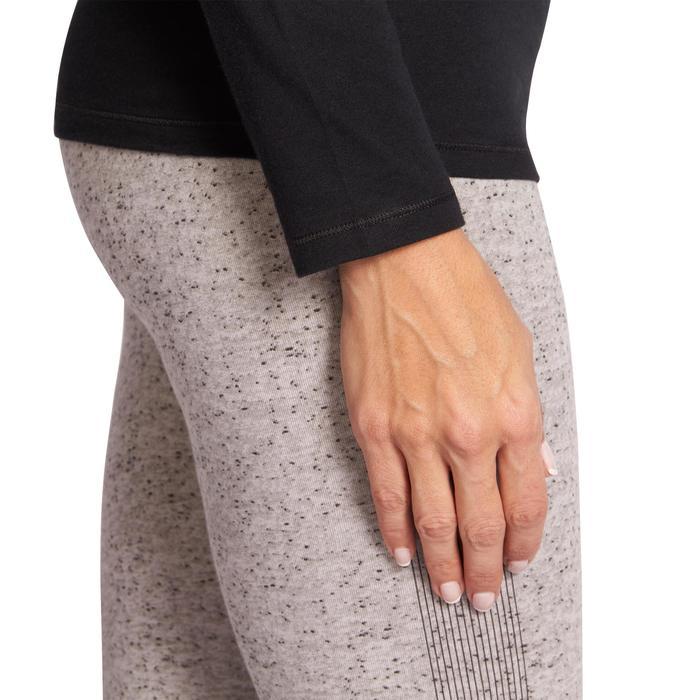 T-Shirt 100 manches longues Gym & Pilates femme - 1098104