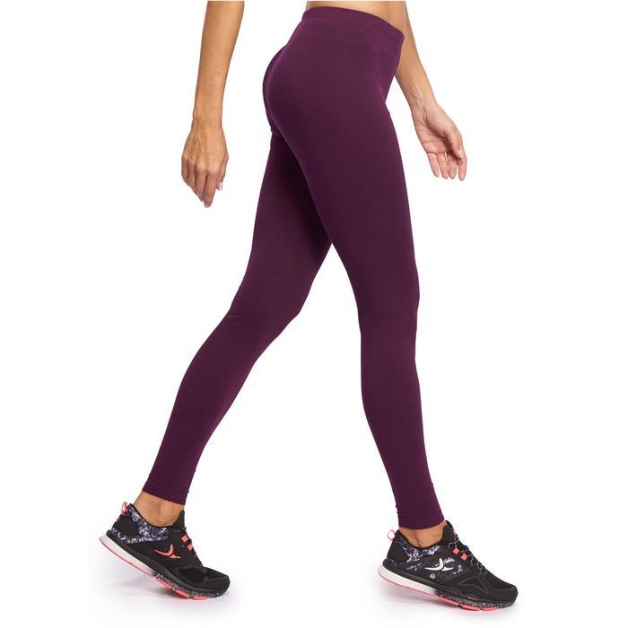 Legging Gym & Pilates femme bordeaux SALTO