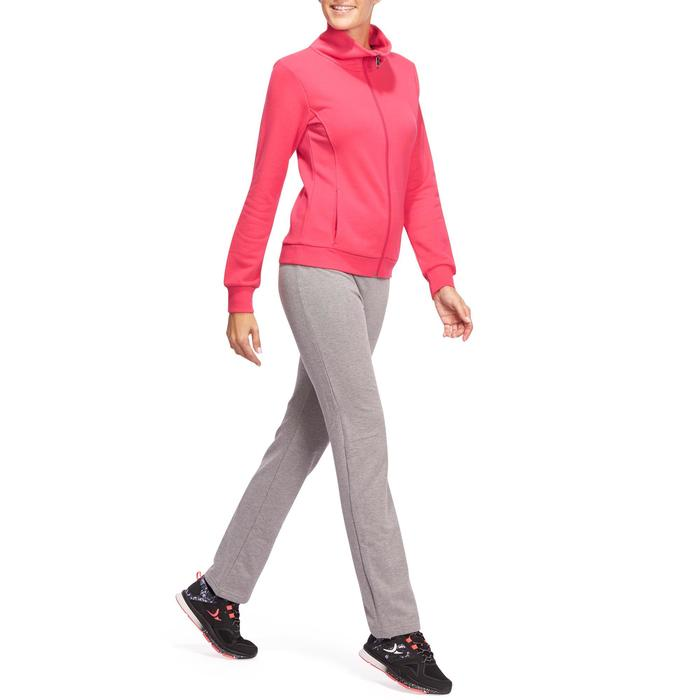 Veste sans capuche zippée Gym & Pilates femme - 1098362