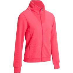 Veste sans capuche zippée Gym & Pilates femme