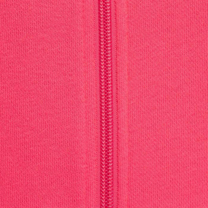Veste sans capuche zippée Gym & Pilates femme - 1098377