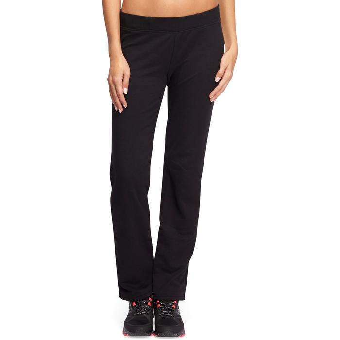 Bodypant 500 regular Gimnasia Stretching mujer negro