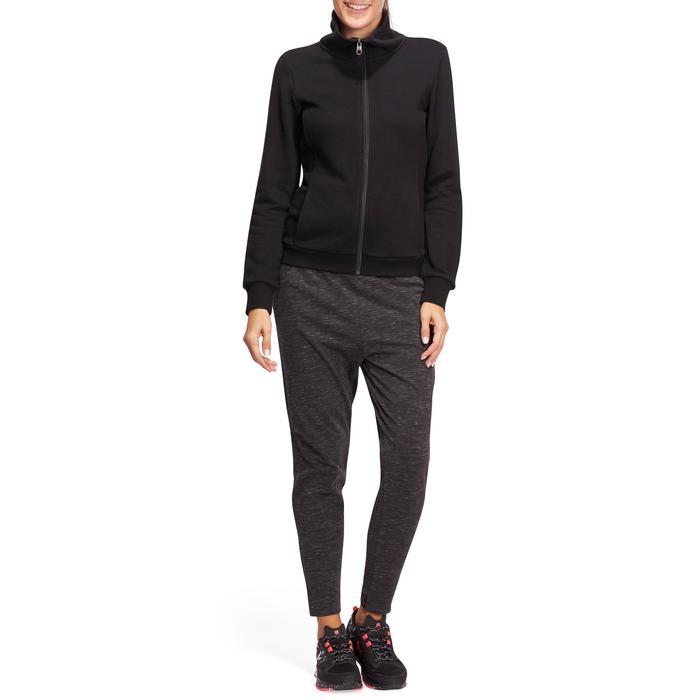Veste sans capuche zippée Gym & Pilates femme - 1098480