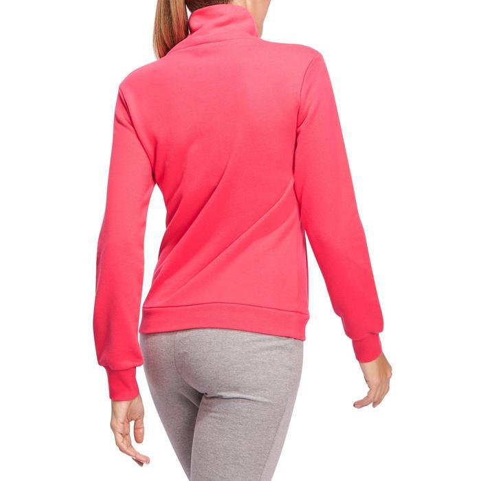 Veste 500 Gym & Pilates femme sans capuche zippée - 1098491
