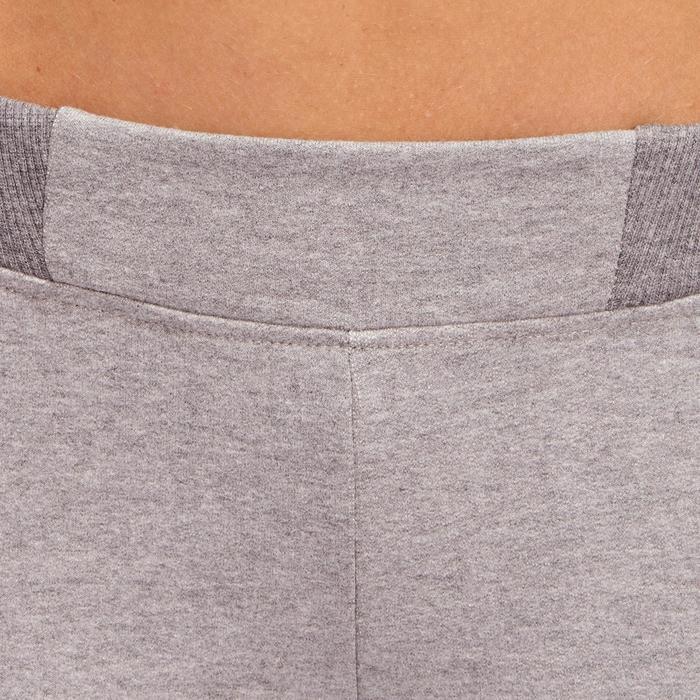 Pantalon 120 Gym & Pilates femme gris chiné - 1098546