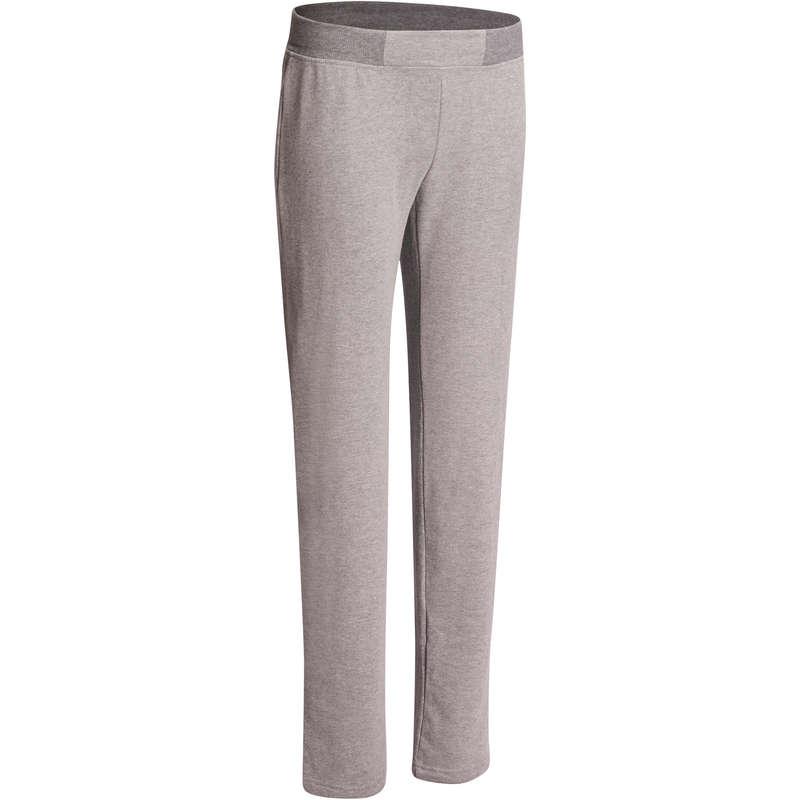 WOMAN PANT JACKET SWEAT - 120 Gym Bottoms - Mottled Grey NYAMBA