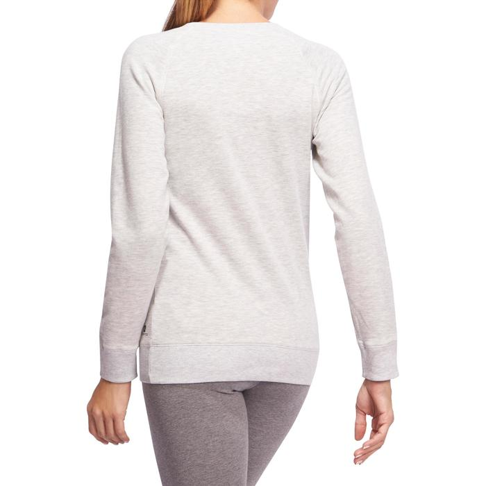 Sweat col rond Gym & Pilates  femme - 1098580