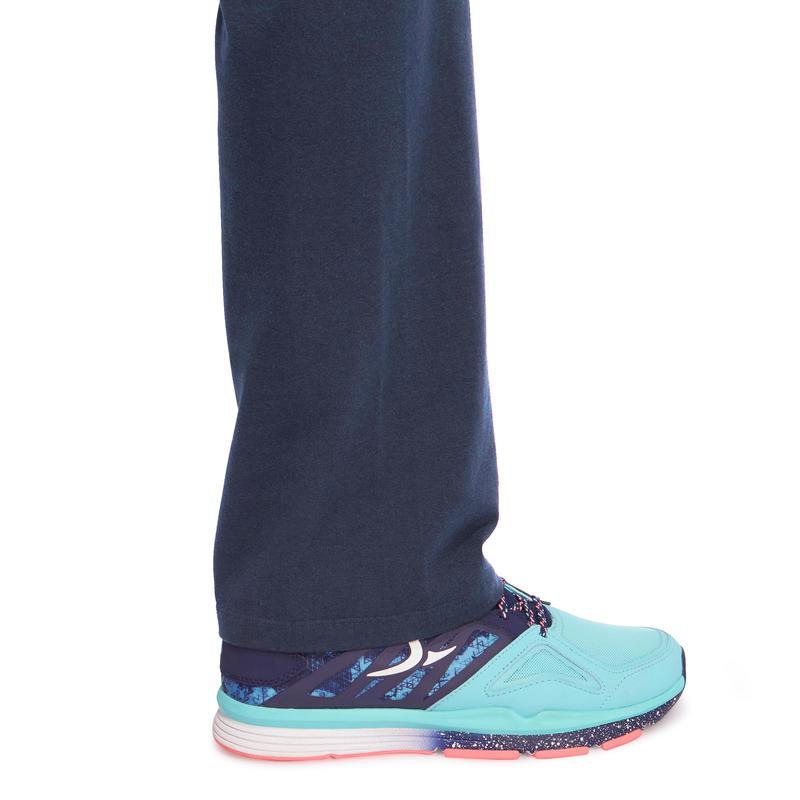 Fit+ 500 Women's Regular Gym & Pilates Leggings - Dark Blue
