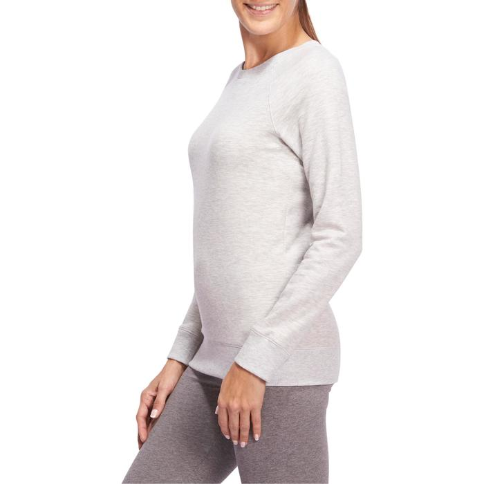 Sweat col rond Gym & Pilates  femme - 1098631