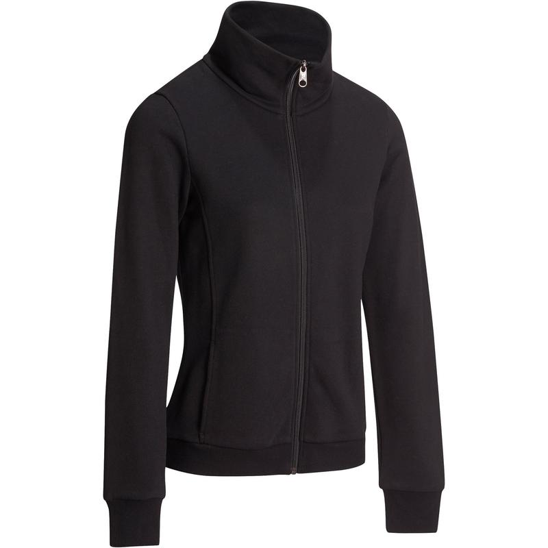 quality design 32be1 e0932 Abbigliamento donna - Felpa donna gym pilates 500 nera