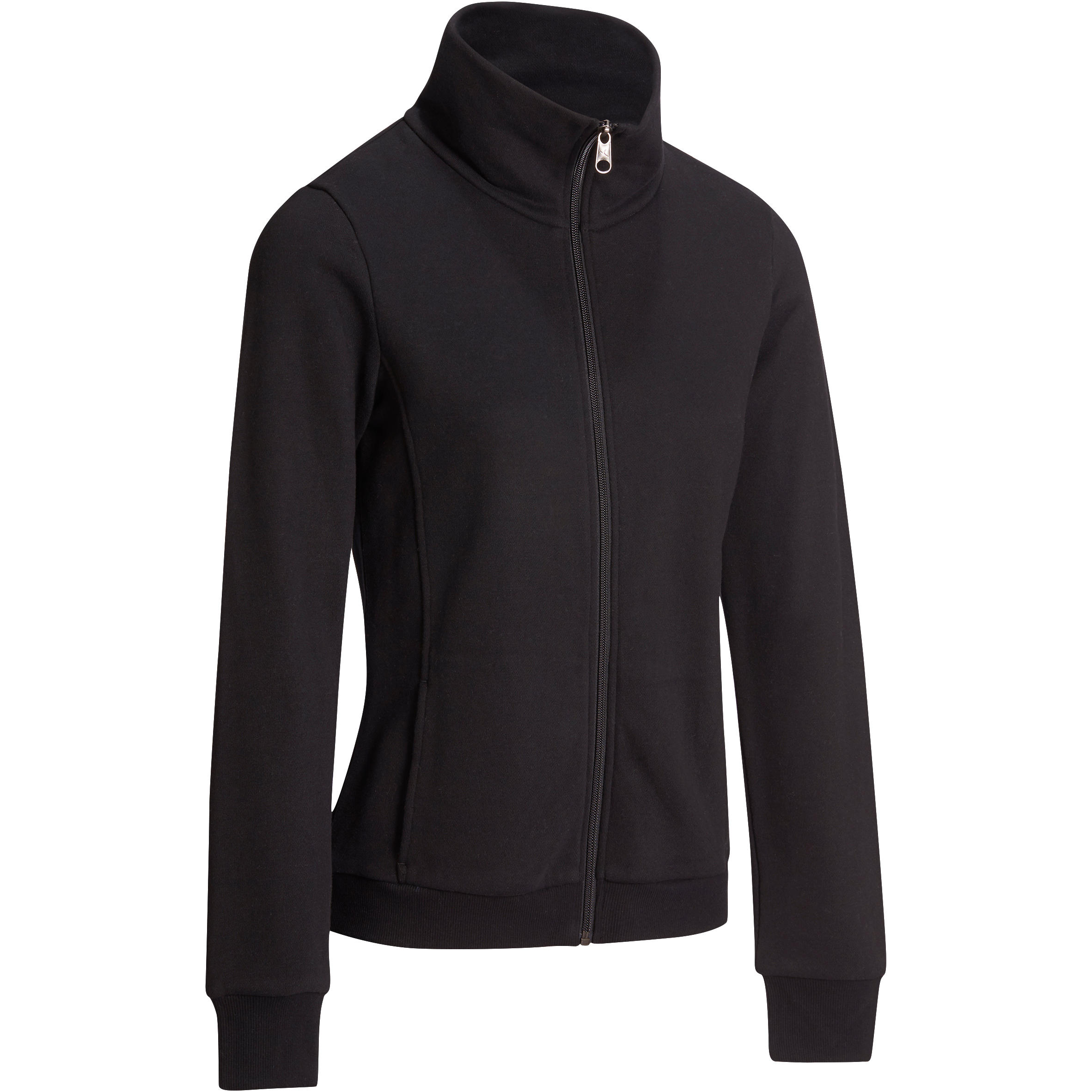 500 Women's Stretching High-Neck Jacket - Black