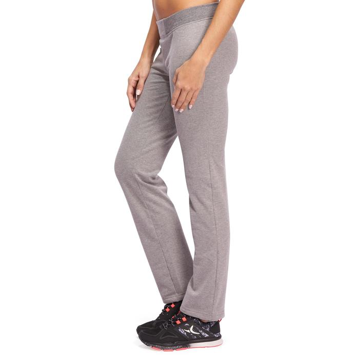 Pantalon 120 Gym & Pilates femme gris chiné - 1098682