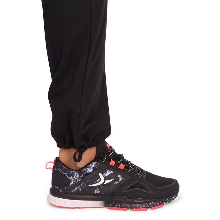 Pantalon 120 Gym & Pilates femme gris chiné - 1098687