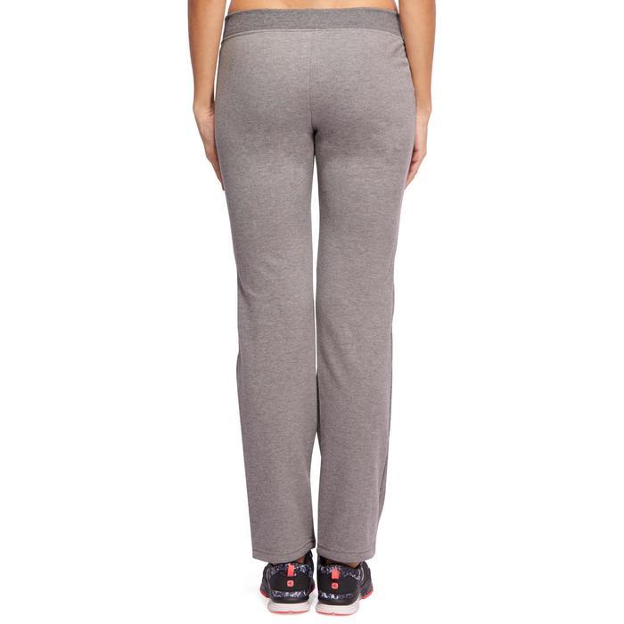 Pantalon 120 Gym & Pilates femme gris chiné - 1098721