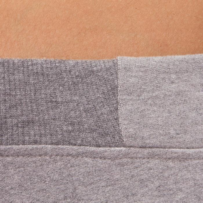 Pantalon 120 Gym & Pilates femme gris chiné - 1098732