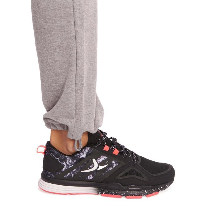 Pantalon 120 Gym & Pilates femme gris chiné - 1098793