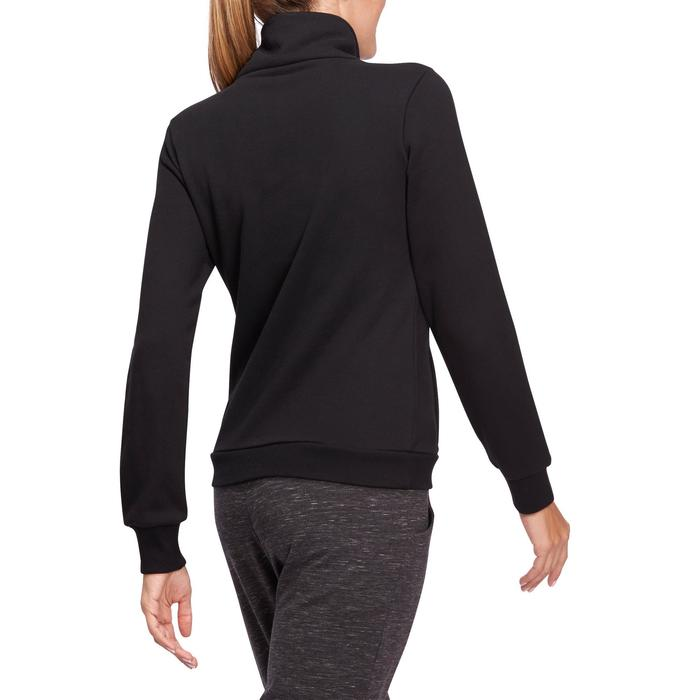 Veste 500 Gym & Pilates femme sans capuche zippée - 1098810